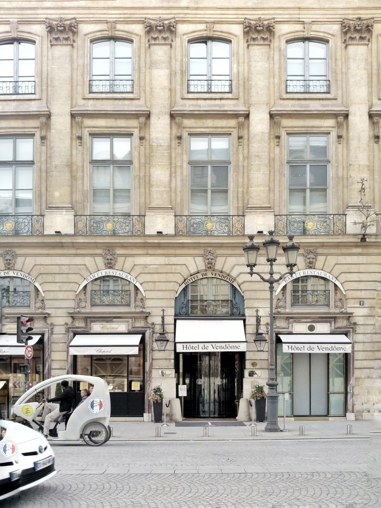 There is only one 1 Place Vendome address in the world...